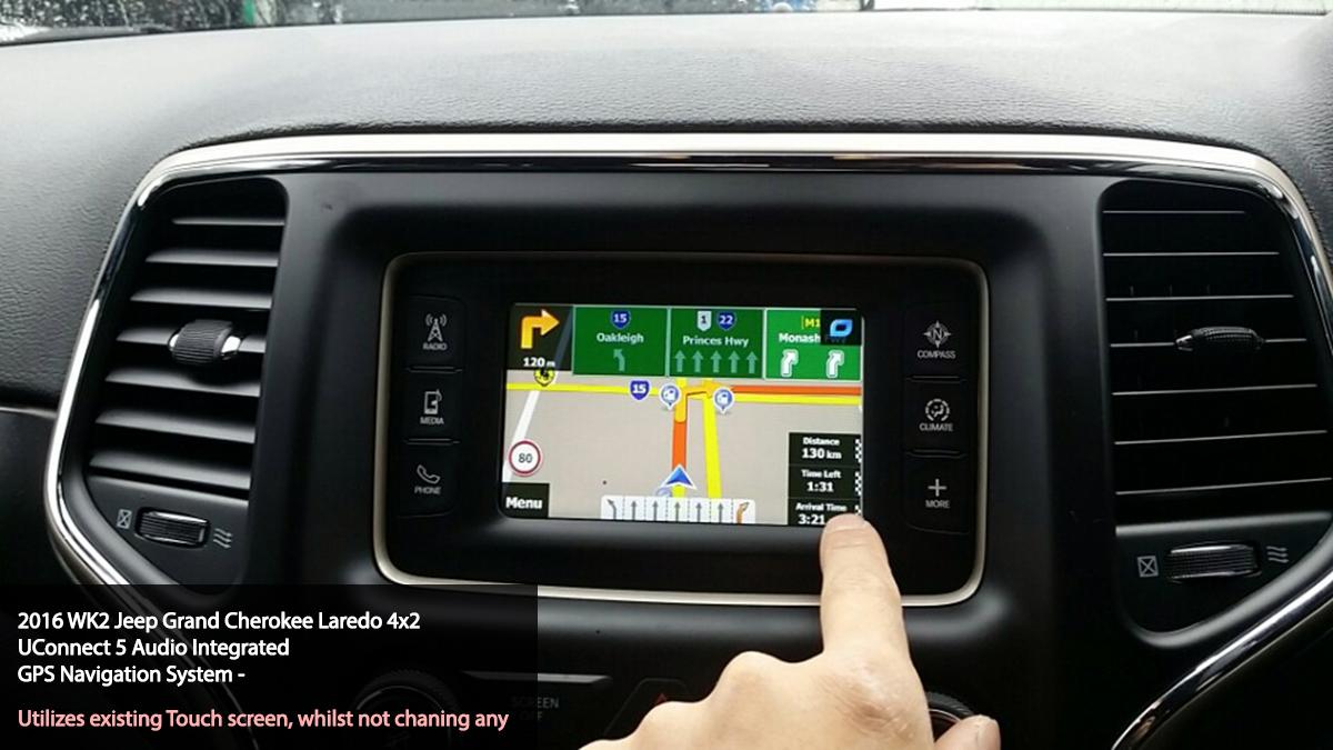 main   Jeep UConnect 5 GPS Navigation Upgrade
