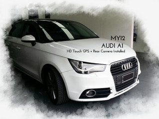 Audi A1 - Something Big and Better Tech accessory for Audi's baby brother