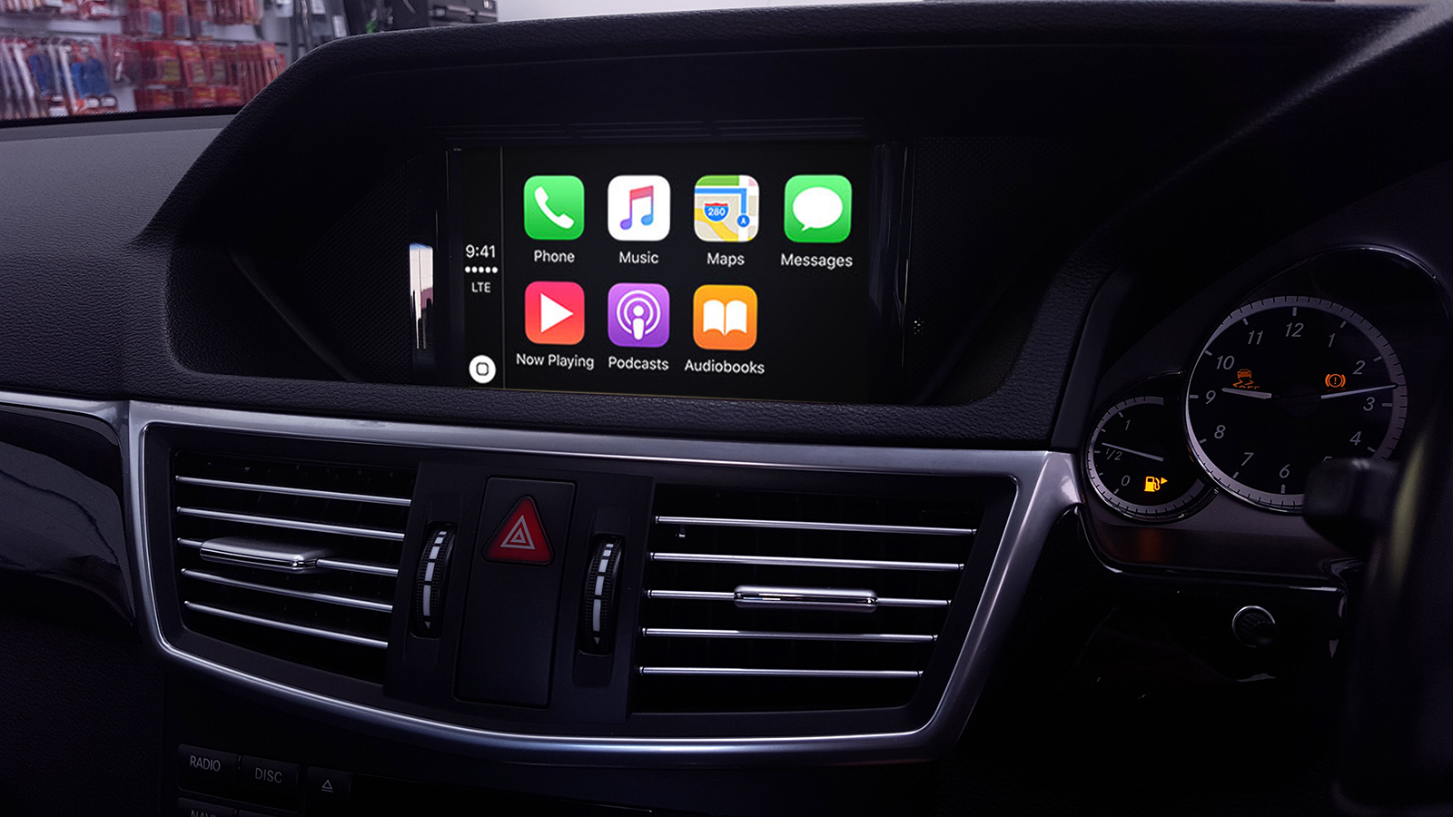 Apple Carplay Retrofit Service For Mercedes Benz 2011 2015 Has 2008 Cls 550 Wide Kit Been Commenced By Naviplus Comau