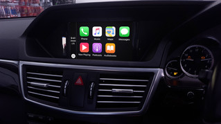 Apple CarPlay retrofit service for Mercedes Benz 2011 - 2015 has been commenced by Naviplus