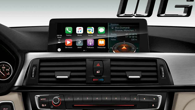 Apple CarPlay Retrofit Upgrade is available for those BMW F Badge