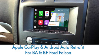 Apple CarPlay for BF Falcon - Special order & Installation for that One customer.