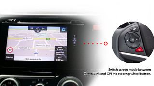 HondaLink // Naviplus introduces mobile-free GPS Sat Navigation Upgrade