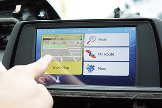 BMW iDrive CIC-High Retrofitted Touch GPS Navigation System - from Naviplus