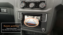 Volkswagen Caddy - Reverse Camera Integration