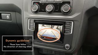 Volkswagen Caddy - Reverse Camera Integration