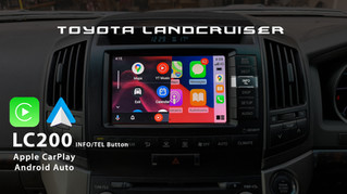 Toyota Land Cruiser Sahara - Apple CarPlay & Android Auto Integrated