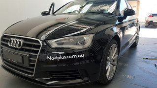 """Say Good Bye to tiny screen of Audi A3, say hello to 8"""" GPS Monitor."""