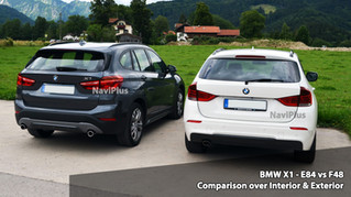 Feature Comparison between BMW X1 Old vs New (1) - E84.
