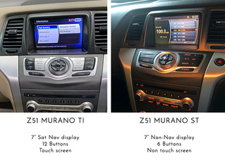 Nissan Murano - Small update on CarPlay & Android auto