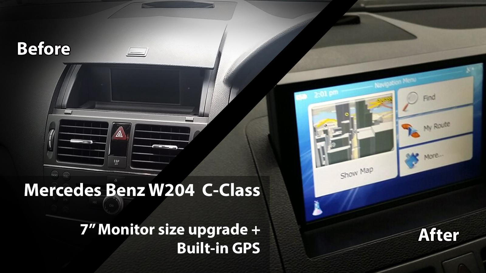 main | Portfolio Merc W204PFL GPS UPGRADE