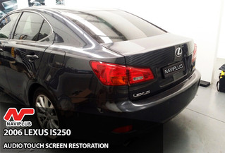 We brought the touch back to Lexus IS250 - Touch screen restoration.