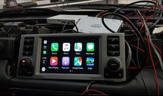 Range Rover Vogue L322 - Apple CarPlay Integration for 2005 - 2010 models.