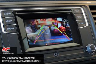 NEW 2016 VW Transporter - Reversing Camera Integration for Composition Media Audio Unit from Volkswa