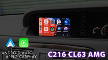 CL63 AMG - The original S-Class coupe, We installed CarPlay & Android Auto