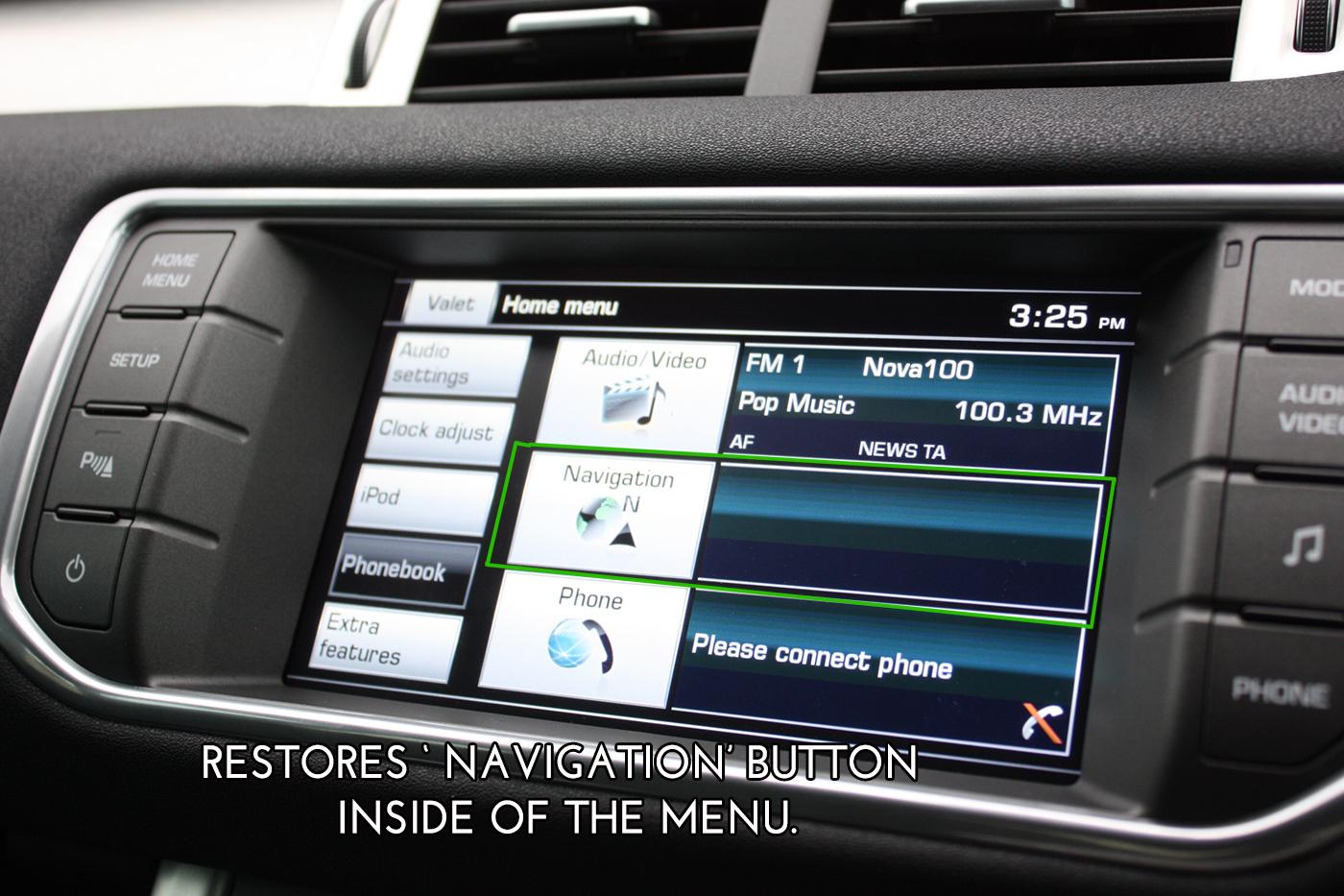 OEM Satellite Navigation System For Land Rover 3rd Gen