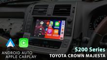 Apple CarPlay & Android Auto Integration - Toyota Crown Majesta S200