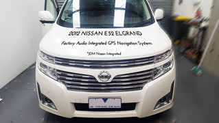 Nissan E52 Elgrand - GPS Navigation with Australia Map has installed - #TBT