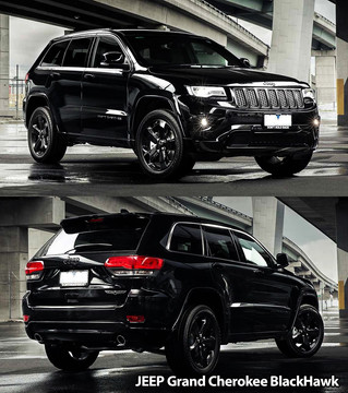 Jeep Grand Cherokee BlackHawk - Family SUV that's having a popular start-off in 2016.