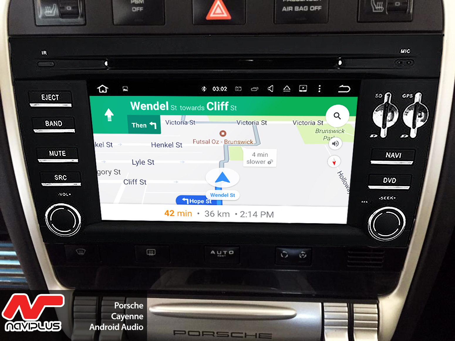 Upgrade your Porsche - Android Audio upgrade for your