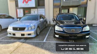 Toyota Crown Majesta UZS186 S1 - Apple CarPlay & Android Auto Integrated