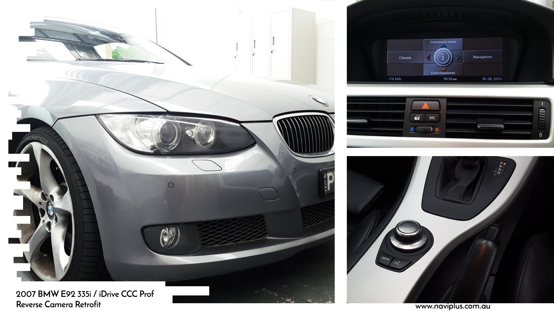 main | Portfolio BMW 3 Series Reversing Camer