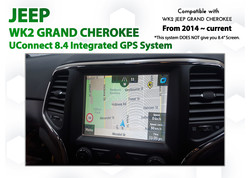 Jeep Grand Cherokee GPS Upgrade