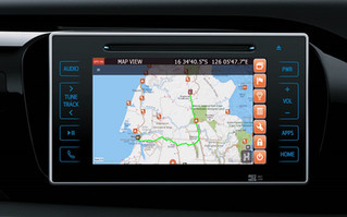 HEMA / OziExpolorer Offroad Navigation direct into Toyota Offroad machines - Prado, Kluger, Fortuna