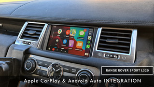 Range Rover Sport L320 - Apple CarPlay & Android Auto Integration