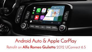 Major Alfa Romeo products updates From Naviplus - on 940 Giulietta series