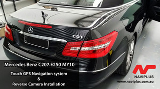 Mercedes Benz C207 E-Class - Rear Camera Installed on E250's Audio20 system.