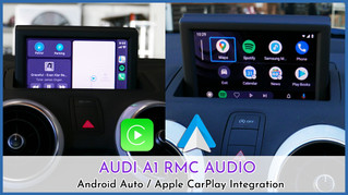 Audi A1 - Apple CarPlay Integration, using control pad