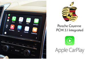 Apple CarPlay Retrofit for Porsche - PCM3.1version audio equipped vehicles are compatible
