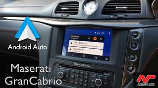 Maserati GranCabrio - Android Auto retrofit review
