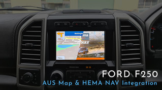 2020 Ford F250 - AUS Street & Offroad Map Integration
