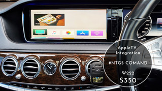 AppleTV Integration - for Mercedes Benz's NTG5 Audio20 / COMAND