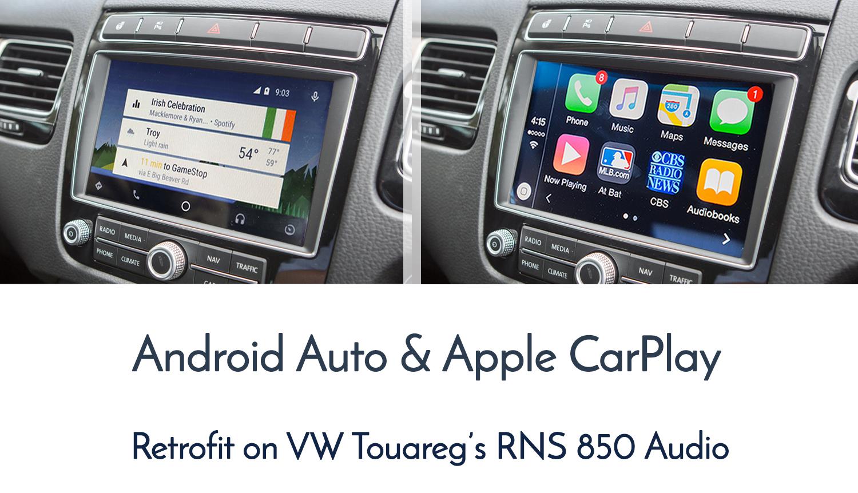 Apple CarPlay / Android Auto Retrofit for Volkswagen Touareg 7P