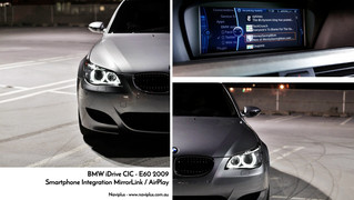 BMW 5 Series - Wired MirrorLink Integrated into CIC iDrive - Strongest smartphone Integration out th