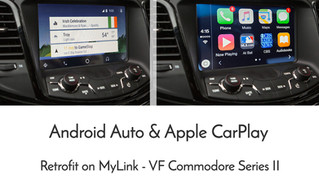 Apple CarPlay / Android Auto Retrofit on VF Series 2 commodore is now available!