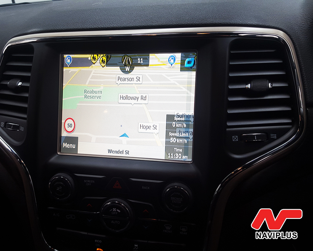 main | JEEP Grand Cherokee UConnect GPS