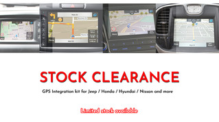 Massive clearance sale on Integrated Navigation