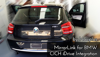 Smartphone on BMW - MirrorLink system for New F Lineup Beemers