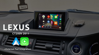 Apple CarPlay & Android Auto Integration - for Early 2011 Lexus CT200h