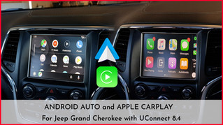 "Jeep UConnect 8.4"" - Apple CarPlay & Android Auto Integration - latest update"