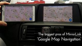 [MiRAPlus] Smartphone Integrated to the iDrive - 2013 BMW F20 118i. #1 - Google Navigation and Youtu