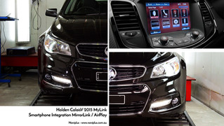 VF Calais - Wired MirrorLink #2: Integrated into Holden's MyLink Audio system with android &