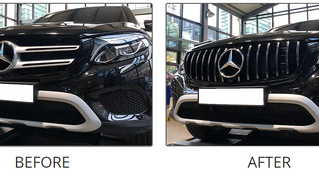 Mercedes Benz Upgrade#2 - AMG / Panamerica GT Grille for GLC-Class