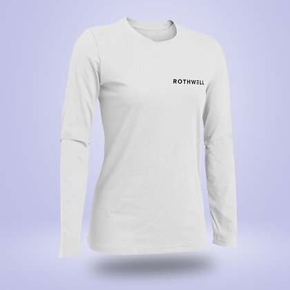 White Long Sleeve T Shirt