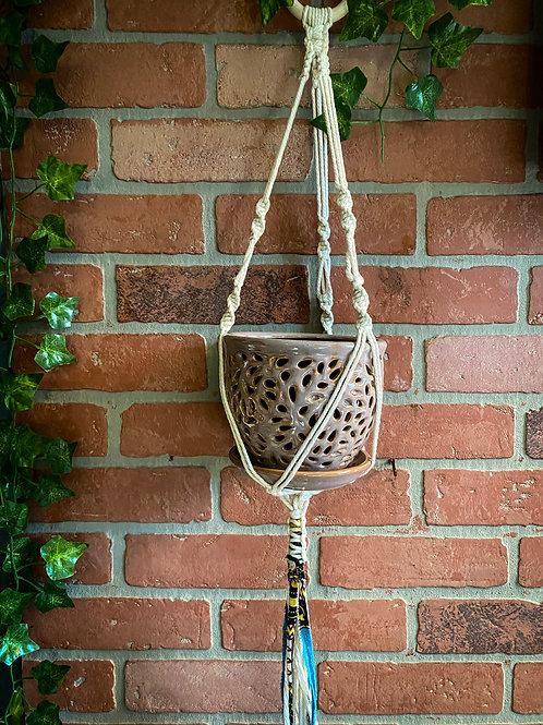 Boho Tri Hanger w/ Spiral Twists