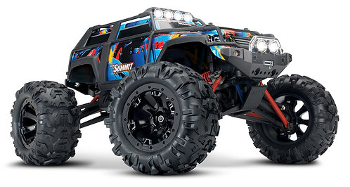 Summit 1/16 Monster Truck 4wd Extreme Terrain